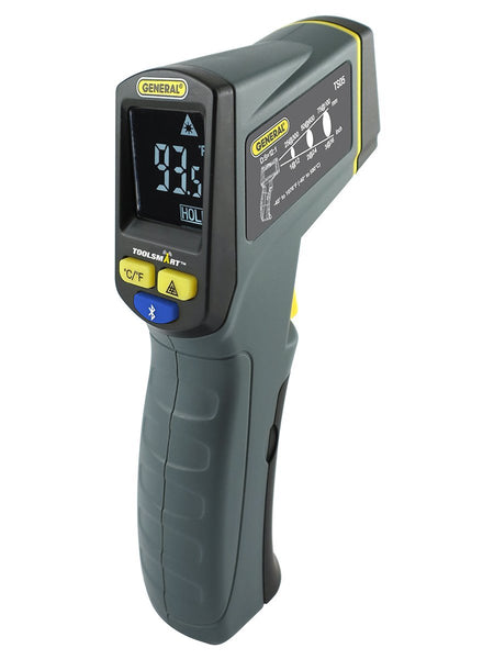 General Tools TS05 Infrared Bluetooth Thermometer, Grey/Black