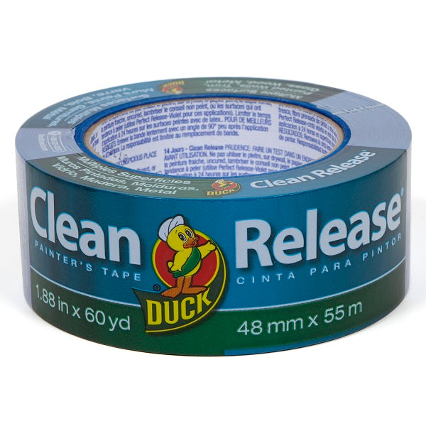"Duck 240195 Clean Release Multiple Surfaces Painter's Tape, 1.88"" x 60 yd"