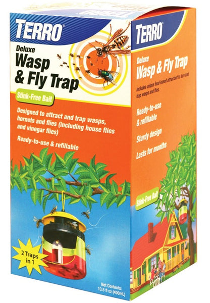 Terro T514 Deluxe Bait Station Wasp & Fly Trap