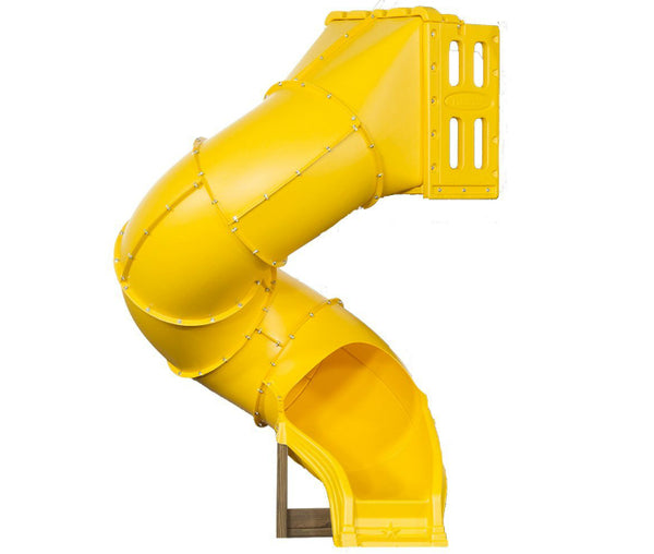 PlayStar PS 8821 Spiral Tube Slide, 5', Yellow