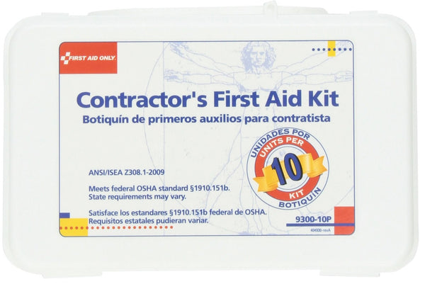First  Aid 9300-10P Stafta First Aid Kit