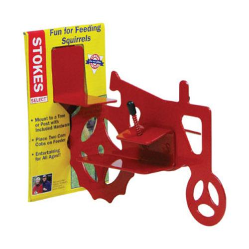 "Stokes Select 38055 Tractor Cob Bird Feeder 10.3""x3.6""x7.5"", Red"