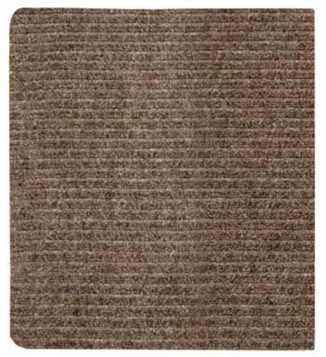 "Dennis HTA0027 Persian Runner Ribbed, 26"" x 100', Tan"