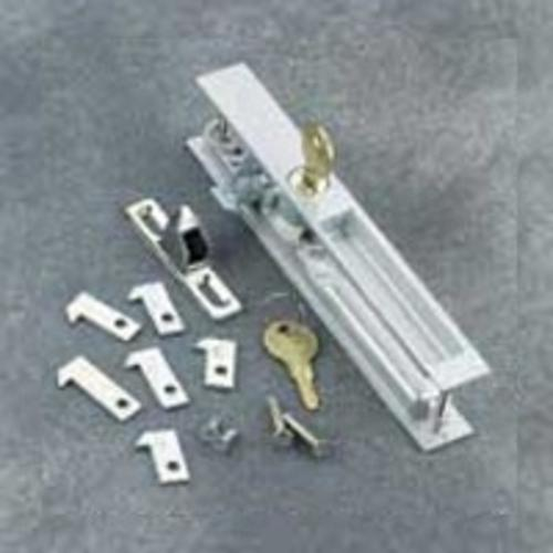 Hampton VK1195 Patio Door Locksets, Aluminum