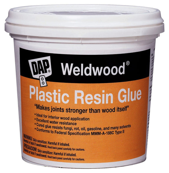 Dap 00204 Weldwood Plastic Resin Glue, 4.5 Lb