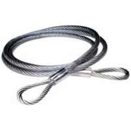 "Baron 07505/50570 Vinyl Coated Cable Sling, 1/4""x3/8""x6'"