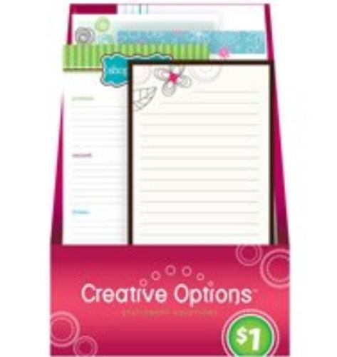 Creative  Options 9898 Shopping Lists