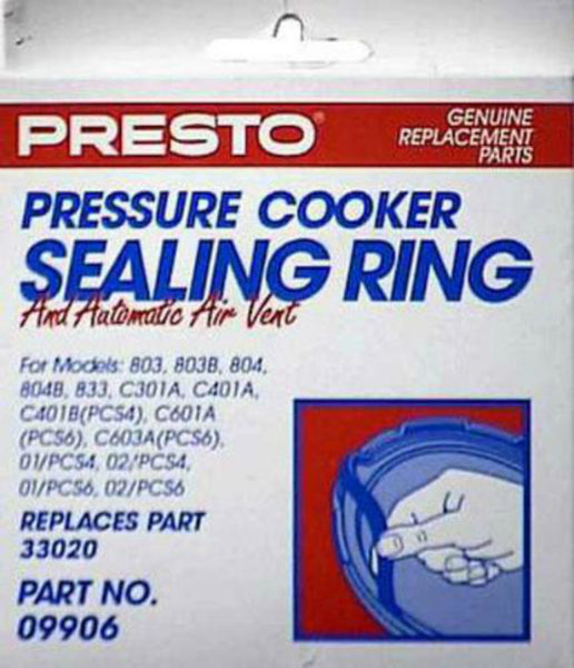Presto 09906 Pressure Cooker Sealing Ring