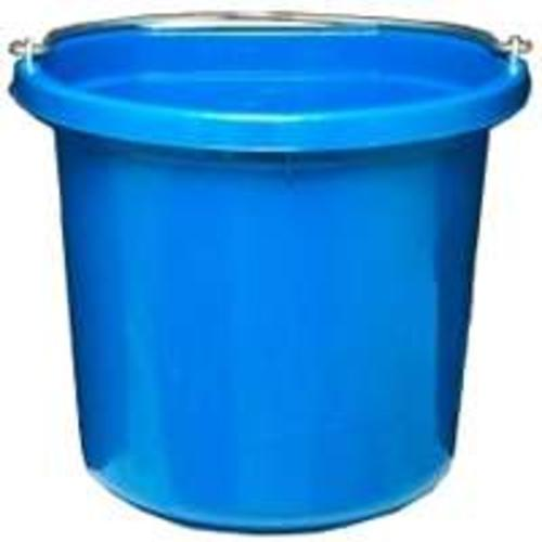 Fortex/Fortiflex FB124BL Flat Back  Blue Bucket, 24 Quart