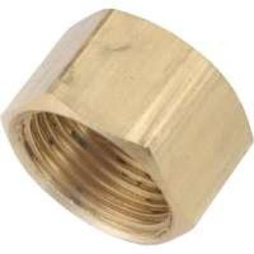 Anderson Metals 730081-08 Brass Compression Fitting, 1/2""