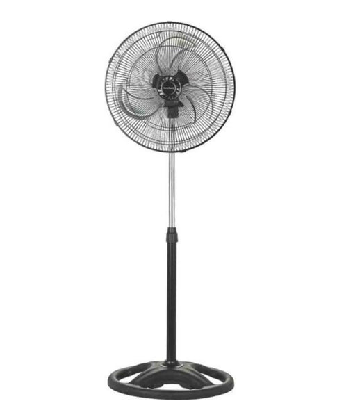 PowerZone CZHVP18EXP Pedestal Fan with 3-Speed Motor, 18""