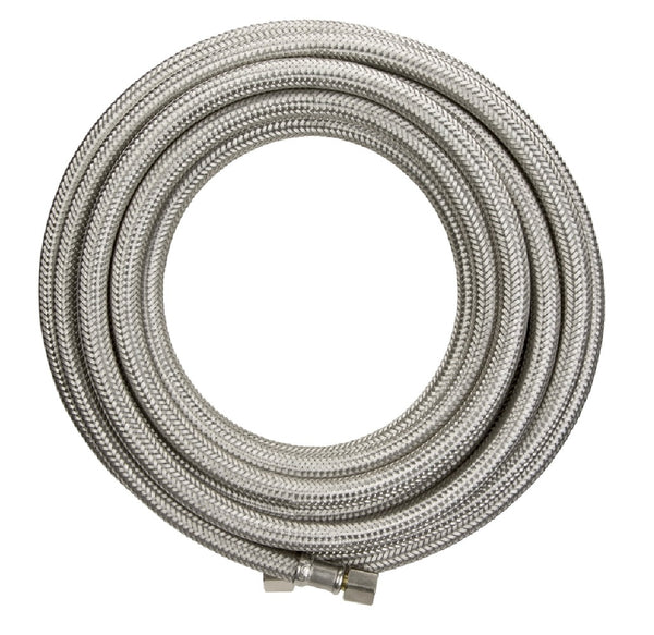 Plumb Pak PP255920 Lead Free Ice Maker Supply Line, Stainless Steel