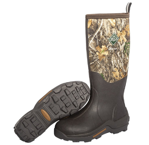 Muck Boot WDM-RTE-RTR-100 Woody Max Waterproof Rubber Hunting Boots, Size 10