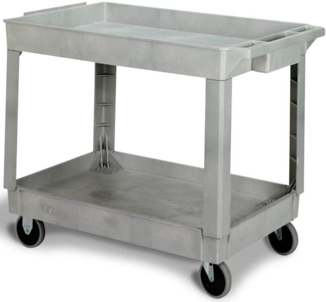 CMC N5805GY Large Utility Cart, Grey