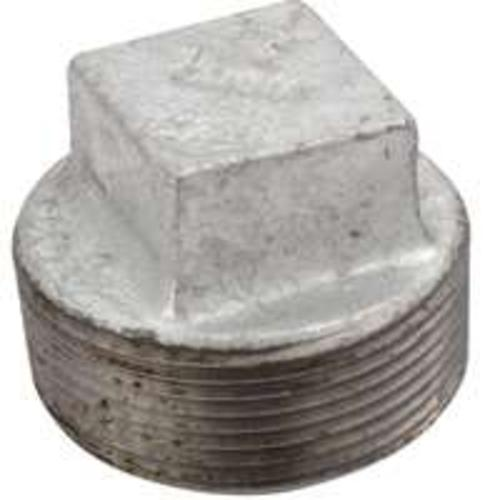 Worldwide Sourcing 31-1-1/2G Galvanized Malleable Screwed Plug 1-1/2""