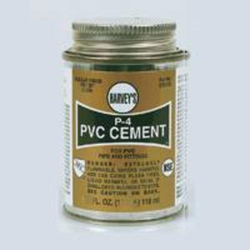 Harvey 018120-12 Pvc Regular Cement 16 Oz