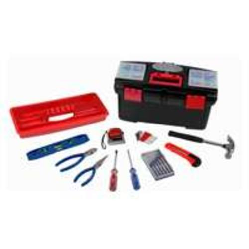 Toolbasix 10557 Tool Set With Tool Box, 22-Piece