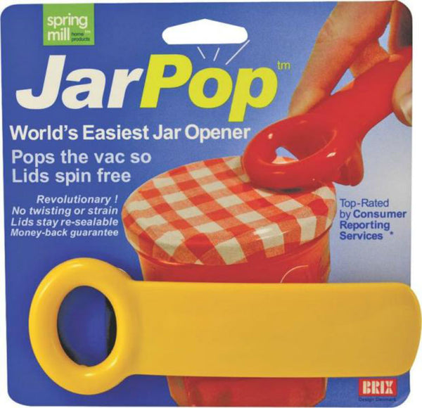 Brix 70712 Jar Opener, Plastic, Assorted Colors
