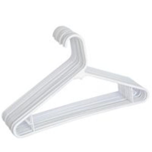 Merrick Engineering C8716A-WH Plastic Tubular Hanger, Assorted Colors