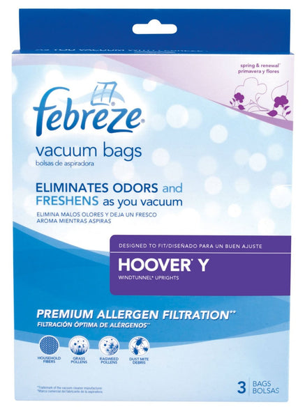 Febreze 22V81 Hoover Y Replacement Vacuum Bag