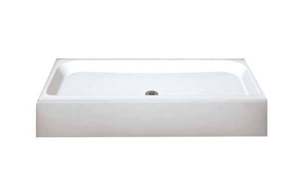 "Maax 105624-000-002-00 Finesse Shower Base, 32"" x 48"" x 7-1/4"", White"