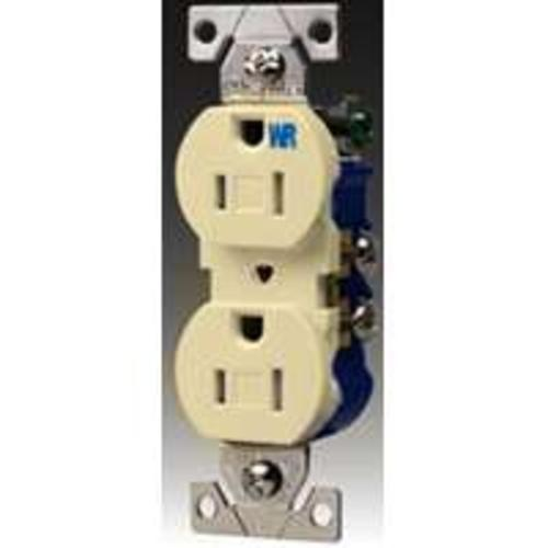 Cooper Wiring TWR270V Duplex Receptacles, Ivory