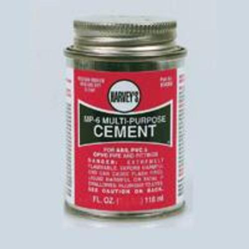 "Harvey 018030-12 ""Mp-6"" Multi-Purpose Cement 32 Oz."
