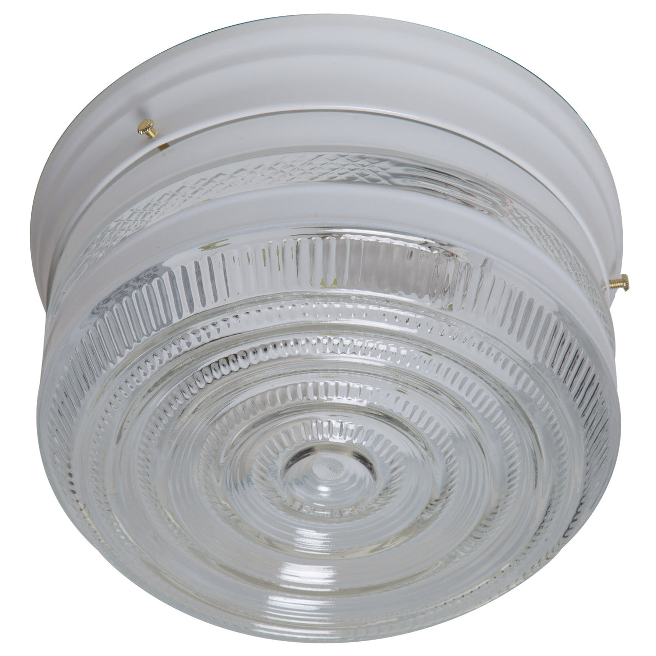 Boston Harbor F14WH02-8002CL3L Light Ceiling Fixture, White