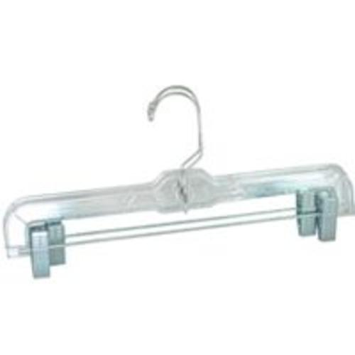 Merrick Engineering C71210-S12 Crystal Cut Skirt Hanger, Clear