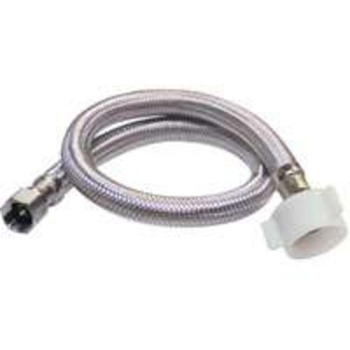 Plumb Pak PP23806 E-Z Stainless Steel Toilet Supply Line, 20""