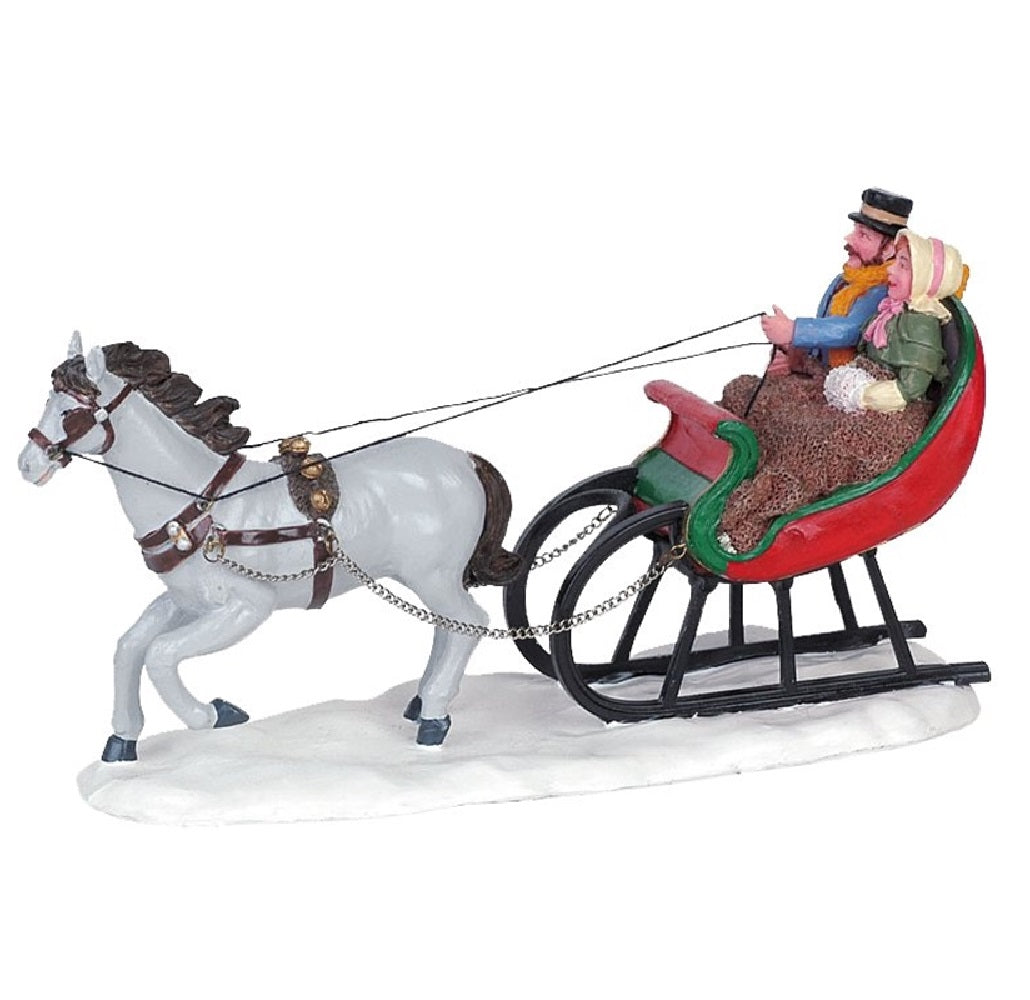 Lemax 63571 Christmas Table Accent Sleigh Ride, 5.43""
