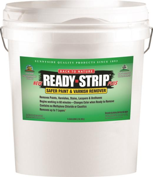 Sunnyside 658G5 Ready-Strip Plus Paint & Varnish Remover, 5 Gallon