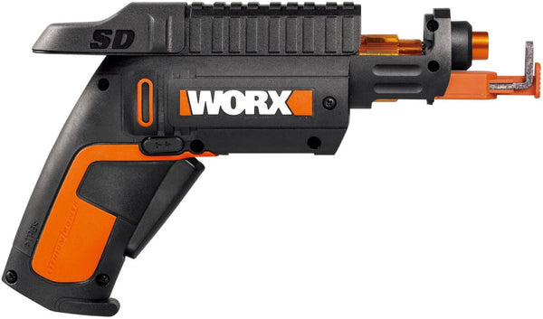 Worx WX255L Cordless SD Driver With Screw Holder, 4 Volt