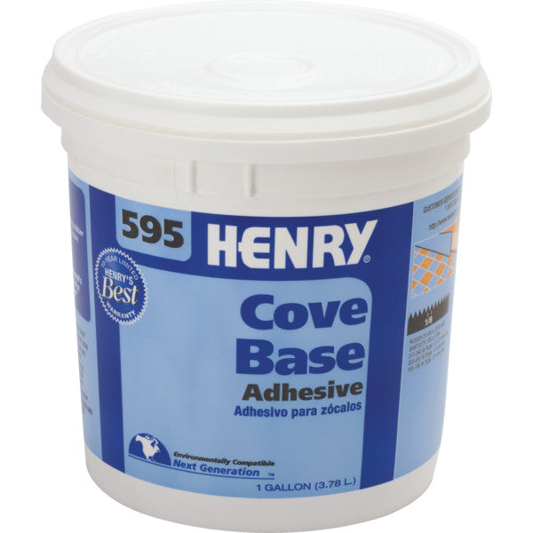 Henry #595 Cove Base Adhesive, 1-Gallon