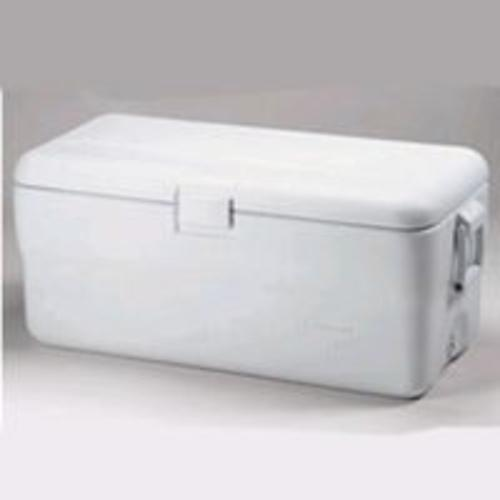 Rubbermaid 198200TRWHT White Ice Chest 102 Quart
