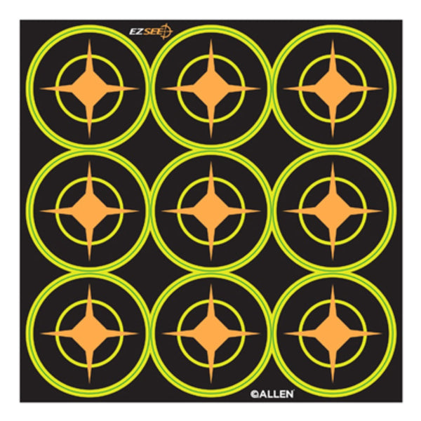 Allen 15318 EZ See Adhesive Aiming Dot, Black