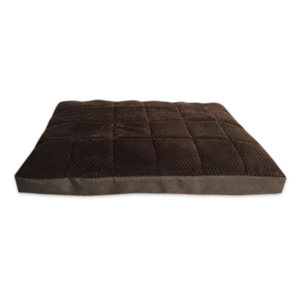 American Kennel Club AKC9136 Burlap & Popcorn Thermal Gusset Pet Bed
