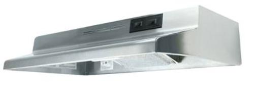 "Air King AD1368 Wide Range Hood, 36"", Stainless Steel, 180 CFM"