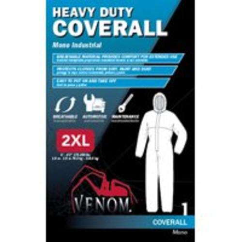 Medline VENCV300XXL Venom Heavy Duty Coverall, 2X-Large