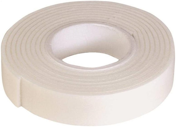 "Prosource PH-121120-PS Mounting Tape, 1/2"" x 42"", White"