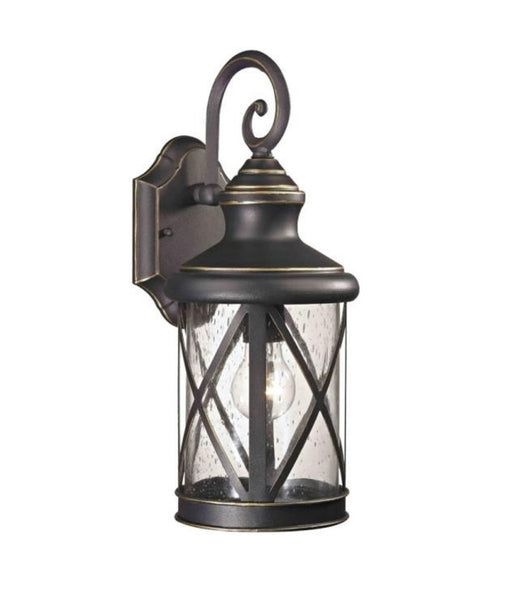 Boston Harbor LT-H04 Outdoor Wall Lantern, One Light, Oil Rubbed Bronze