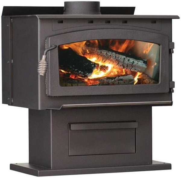 US Stove 2016EB King Epa Certified Wood Stove, 103,000 BTU's
