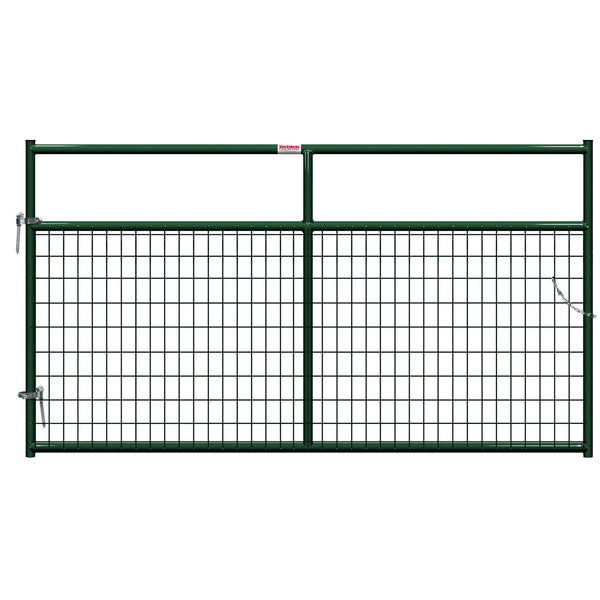 Behlen 40132082 Wire-Filled Gate, Green, 8'