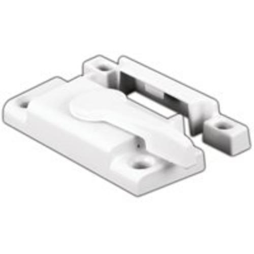 Prime Line F 2554 Vinyl Window Sash Lock, White