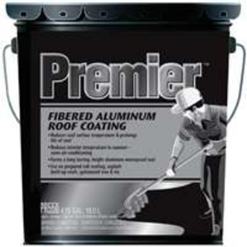 Premier PR550071 Roof Coating 5 Gallon, Aluminum