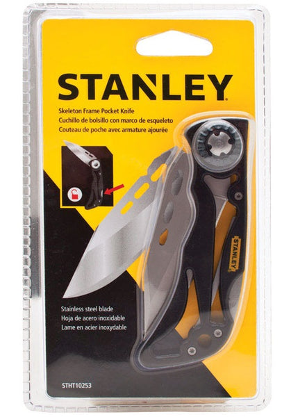 Stanley STHT10253 Folding Skeleton Pocket Knife, 4""
