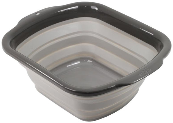 Squish 41092 Collapsible Dish Pan, 6 qt Capacity, Assorted Color