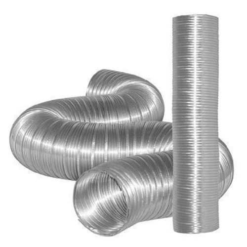 "Dundas Jafine MFX48 Semi-Rigid Flexible Aluminum Ducting, 4"" x 8'"