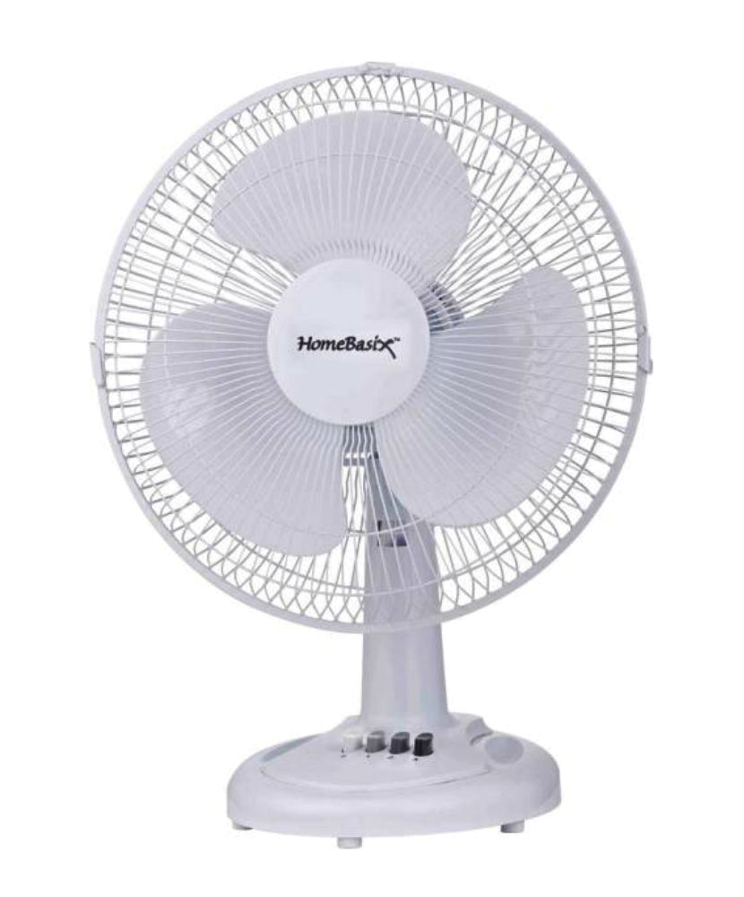 PowerZone F-1230 Oscillating Table Fan with 3-Speed, 12""