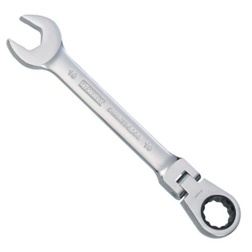 DeWalt DWMT75208OSP Metric Flex Head Combination Ratchet Wrench, 19 mm